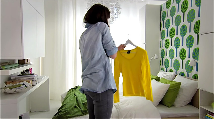 Ikea small spaces small ideas campaigns of the world for Ikea small spaces small ideas