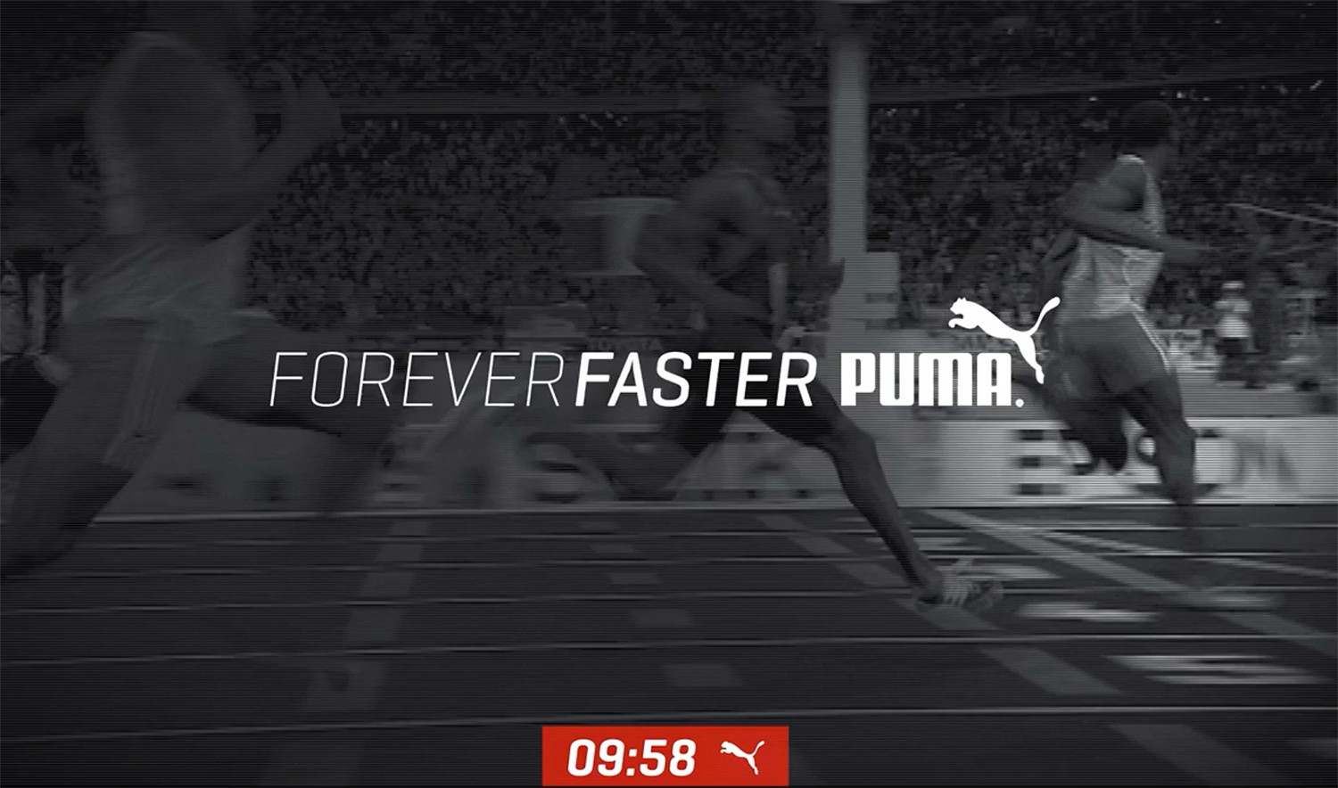 PUMA ́s record year in 9.58 seconds The world's fastest