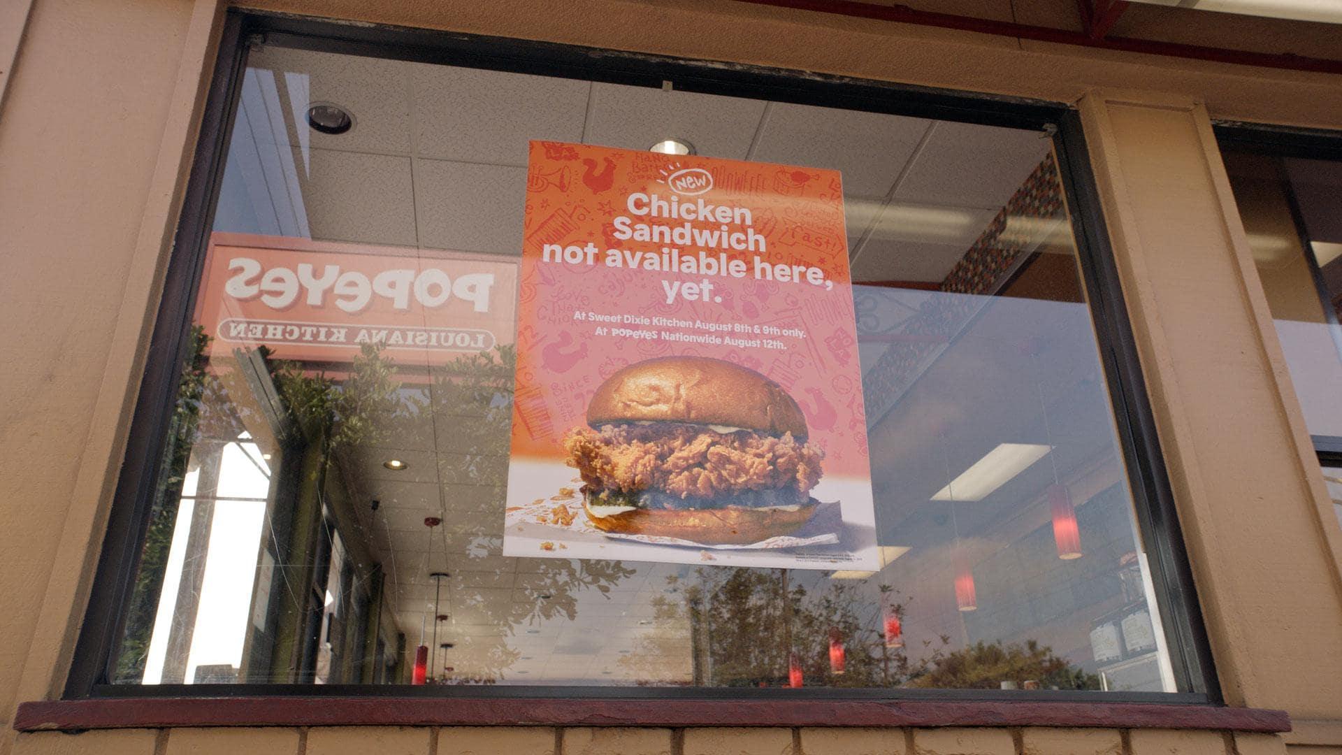 Popeyes Chicken Sandwich: Popeyesgate at Sweet Dixie Kitchen